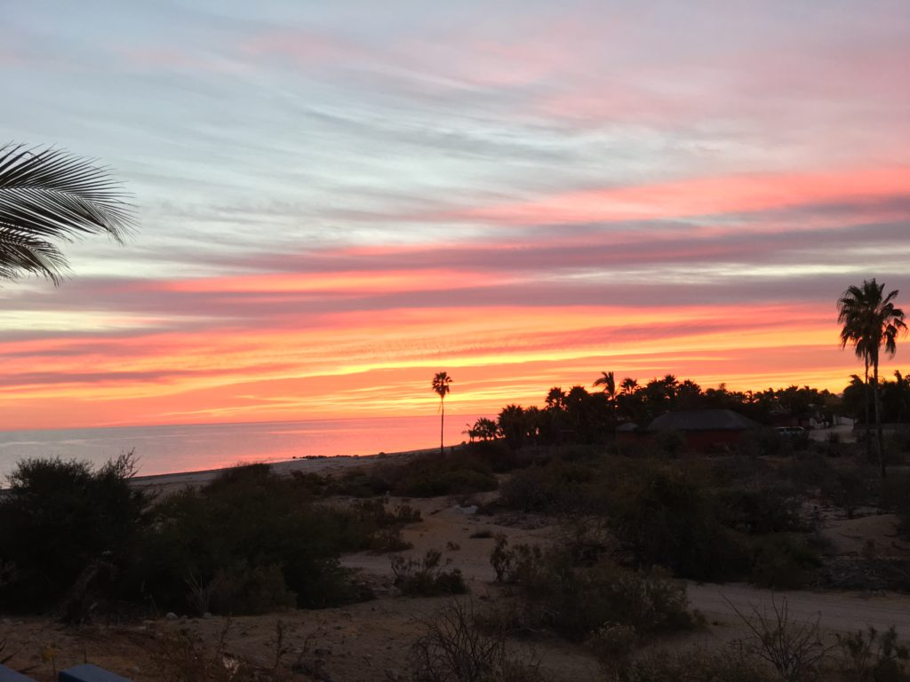 Sunrise over the Sea of Cortez