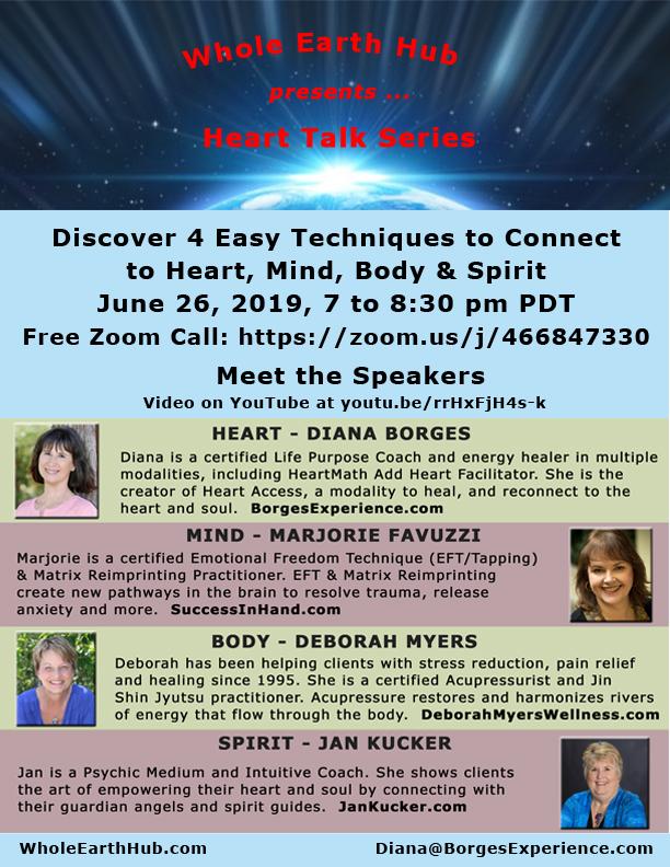 Heart Talk Series Webinar Flyer