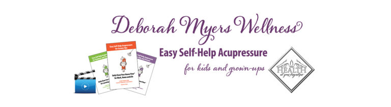 Easy Self-Help Acupressure Banner